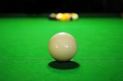 Pool-Tabelle geöffnet Lizenzfreie Stockbilder