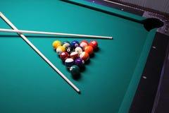 Pool-Tabellen Stockbilder