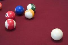 Pool-Tabellen-Kugeln Lizenzfreies Stockfoto