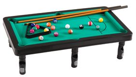 Pool table. Stock Image