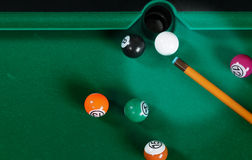 Pool table. Stock Photography