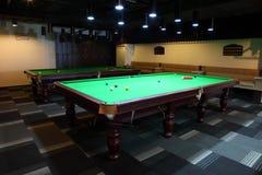 Pool table Stock Photos