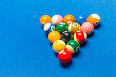 Pool table Stock Images