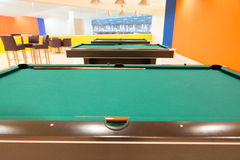 Pool Table Close Up Royalty Free Stock Image