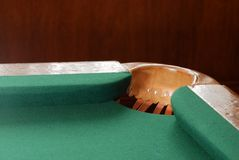 Pool Table Corner Pocket Royalty Free Stock Images