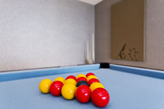 Pool table detail Stock Photos