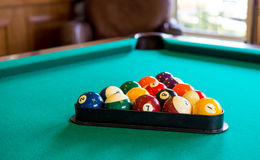 Pool Table Royalty Free Stock Images