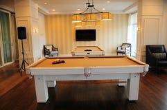 Pool tables, billiard Royalty Free Stock Photos