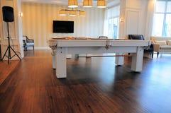 Pool tables, billiard Royalty Free Stock Image