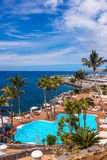 Pool at Tenerife island - Canary Royalty Free Stock Photography