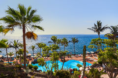 Pool at Tenerife island - Canary Stock Photos