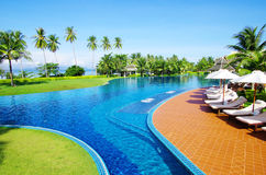 Pool in thailand Royalty Free Stock Photos