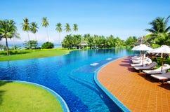 Pool in Thailand Royalty-vrije Stock Foto's