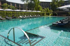 Pool in Thailand Stock Image