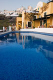 Pool, Thira (Santorini) Stock Photography