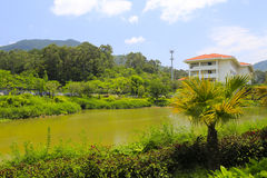 Pool of tianzhu resorts hotel Royalty Free Stock Images