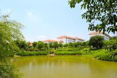 Pool of tianzhu resorts hotel Royalty Free Stock Photo