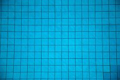 Pool Tiles. Tiles underwater in a swimming pool Royalty Free Stock Photography