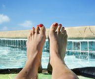 Pool time Royalty Free Stock Images