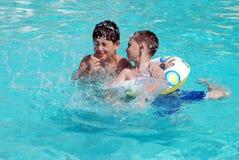 Pool Time Royalty Free Stock Photos
