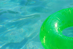 Pool toy floating Stock Image