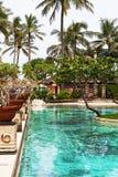 Pool in tropics Stock Image
