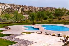Pool Turkey. Goreme park. Royalty Free Stock Images