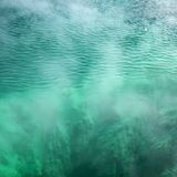 Pool of turquoise water. Stock Photo