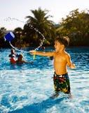 Pool u. Spaß Stockfotos