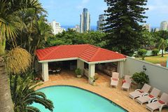 Pool in Umhlanga Rocks, South Africa Stock Photography