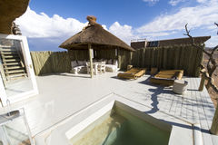 Pool of a Lodge in Namibia Stock Images
