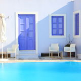 Pool villa royalty free stock photography