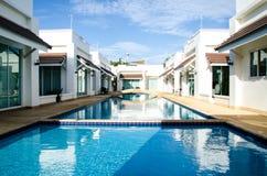 Pool villa. The resort and pool villa Stock Images