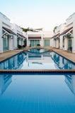 Pool villa. In resort Royalty Free Stock Photo