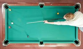 Pool von oben Stockfotografie