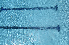 Pool water Stock Image