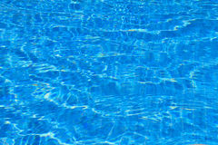 Pool water Stock Photography