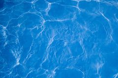 Pool Water Abstract Royalty Free Stock Photos