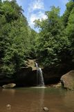 Pool of water at Hocking Hills Stock Images