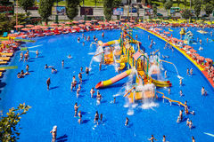 Pool Water Park Mamaia Romania Royalty Free Stock Photos