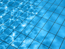 Pool water pattern Royalty Free Stock Photos