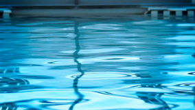 Pool water reflection stock video