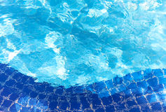 Pool water ripple background texture Royalty Free Stock Images