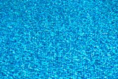 Pool water rippling background stock image