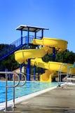 Pool Water Slide Stock Image