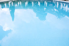 Pool water surface Royalty Free Stock Photo