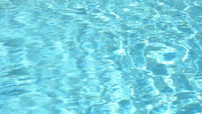Pool water surface. Shiny blue water background, Pool water surface, sparkles on the water. water in swimming pool with sunny reflections. Glistening water loops stock footage