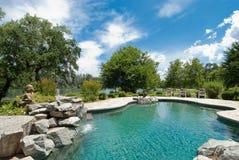 Pool Waterfall Royalty Free Stock Image