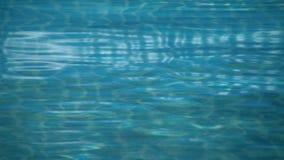 Pool Waves 01 stock footage