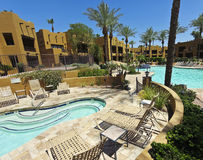 A Pool at The Wigwam, Litchfield Park, Arizona royalty free stock photography
